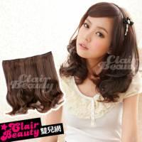 【AMF011】一片式梨花頭立體浪漫捲髮片