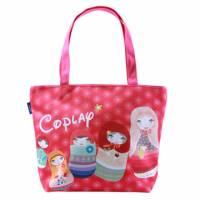 【Coplay設計包】俄羅斯娃娃 紅 托特包