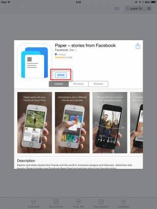 【來嚐鮮】Facebook Paper 非美國區下載教學
