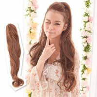 【AMF015】髮包式-超長大波浪捲髮馬尾