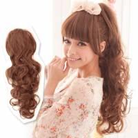 【AMF017】髮包式-夢幻公主系捲髮馬尾