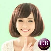 【LW201AE】口愛瀏海BOB0短假髮-咖啡色