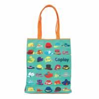 【Coplay設計包】帽子派對 綠 A4包