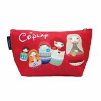 【Coplay設計包】俄羅斯娃娃紅 小船包