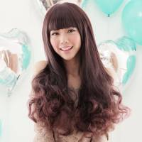 【MA072】大眼娃娃~附修臉設計長捲髮