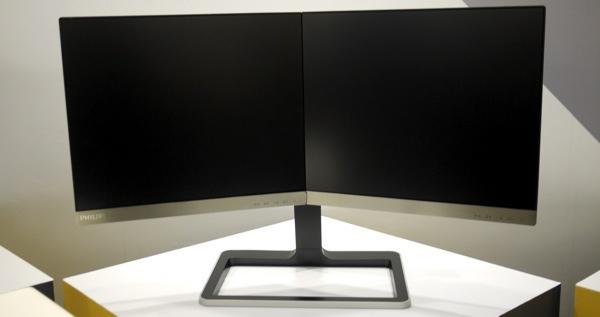 Computex 2014:Philips 螢幕歸來 這次是兩顆可以轉動的19吋螢幕