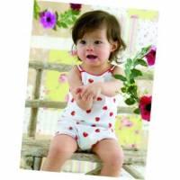 魔法Baby ~台灣製造草莓印花細肩帶俏皮連身裝 義大利設計款 ~童裝~女童裝~時尚設計童裝~k01