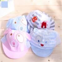 魔法Baby ~超可愛造型小童帽 水藍 ~兒童帽~時尚設計童裝~k22230