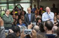 Satya Nadella 正式上任,成為微軟史上第三位執行長