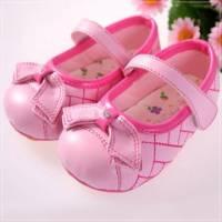 魔法Baby ~KUKI 酷奇水鑽蝴蝶結網格甜美系童鞋~女童鞋~時尚設計童鞋~s5775