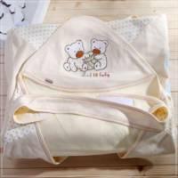 魔法Baby~百貨專櫃正品嬰兒抱毯 黃 ~嬰兒用品~k23084