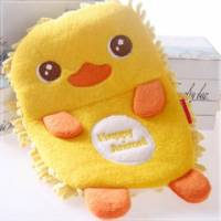 魔法Baby~日系有夠Q絨毛除塵清掃手套 黃小鴨 ~嬰幼兒用品~時尚設計~c0053