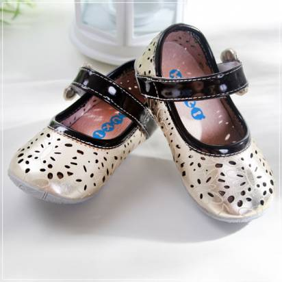 魔法Baby ~KUKI 酷奇質感蝴蝶甜美系童鞋~女童鞋~時尚設計童鞋~sh0583