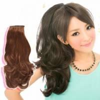 【A7956M】優雅公主微捲造型綁式馬尾髮片