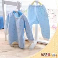 魔法Baby~【KUKI】台灣製造包紗布前開衫套裝~套裝~男童裝~時尚設計童裝~k00507_b