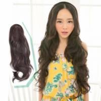 【MW008】髮箍式-超長迷人波浪大捲髮型