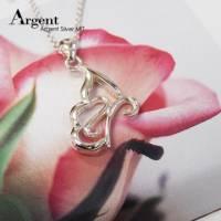 【ARGENT銀飾】造型系列「蝶戀 左 」純銀項鍊