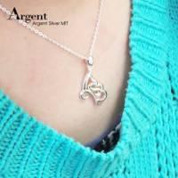 【ARGENT銀飾】造型系列「蝶戀 右 」純銀項鍊