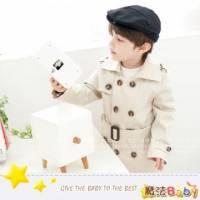 魔法Baby ~韓版冬季兒童優雅風衣~童裝~男童裝~時尚設計童裝~k24579