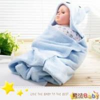 魔法Baby~羊羔絨小熊造型大抱毯~嬰兒用品~時尚設計~k24968