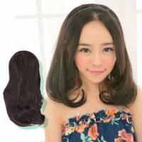 【MW023】髮箍式-麻花辮款梨花頭短捲髮