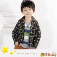 魔法Baby~韓版合身短西裝外套~童裝~小潮男女童裝~時尚設計童裝~k25958