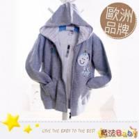 魔法Baby~歐洲品牌小童連帽外套 小彩馬 ~童裝~男童裝~時尚設計童裝~k04550