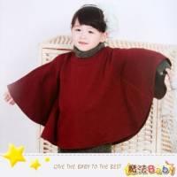 魔法Baby~女童時尚棗紅大批風~DODOMO系列~時尚設計童裝~k26030
