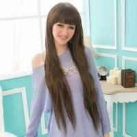 【AW811E】海派甜心魅力女孩長直髮