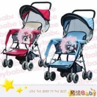 魔法Baby~台灣製造三用加寬揹架車 紅.藍兩款 ~嬰幼兒用品~tb501