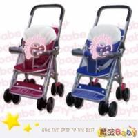 魔法Baby~台灣製造輕便型附睡墊手推車 紅.藍兩款 ~嬰幼兒用品~tb503a