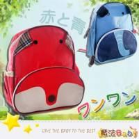 魔法Baby~日系動物家族兒童雙肩後背包 紅.藍兩款 ~郊遊外出用品~f0113