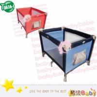魔法Baby~標準型遊戲床 海洋藍.鮮橘兩色款 ~嬰幼兒用品~嬰幼兒遊戲床~tb636