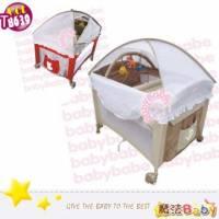 魔法Baby~拱型遊戲床 全配型 _紅.卡其兩色款~嬰幼兒用品~嬰幼兒遊戲床~tb639