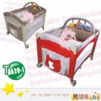 魔法Baby~拱型遊戲床 半配 _紅.卡其兩色款~嬰幼兒用品~嬰幼兒遊戲床~tb639-1