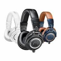 鐵三角經典監聽耳機 M50 系列改款,推出更換材質與可換線的 M50x