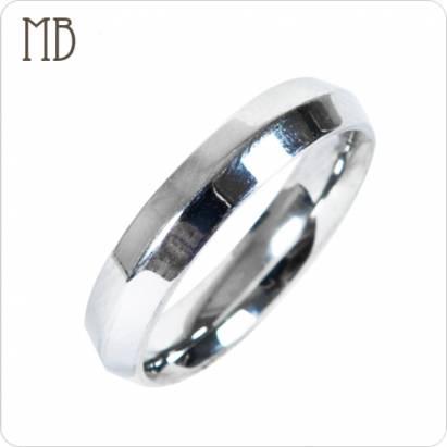 【MB流行鋼飾】尾戒系列「痕」白鋼戒指