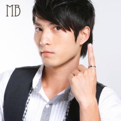 【MB流行鋼飾】情人對戒系列-男戒「戀愛天使」白鋼戒指