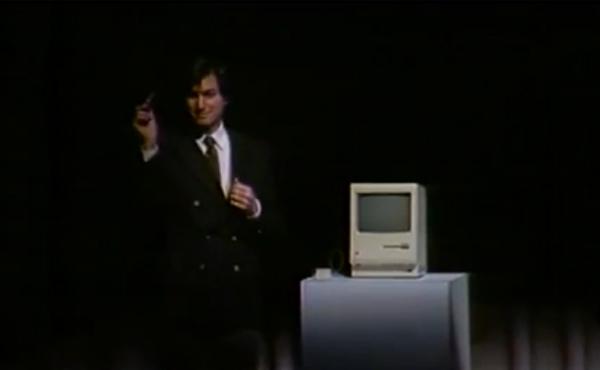 Steve Jobs從未曝光片段: 第一代Macintosh發佈會 [影片]