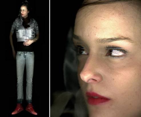 怪異的人像照片,原來是用掃描器拍攝的……