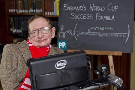 霍金為英格蘭算出世界盃勝利方程式!