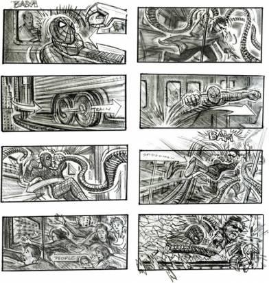 從圖紙上感受震撼!7 部知名電影手繪腳本