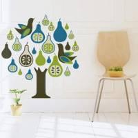 《DALI》創意無痕壁貼◆洋梨樹
