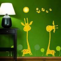 《DALI》創意無痕壁貼◆長頸鹿