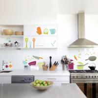《DALI》創意無痕壁貼◆彩色廚房