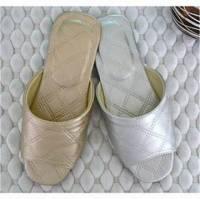 e鞋院 ★菱格紋★舒適室內拖鞋
