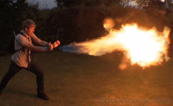 瘋狂發明變身X-Men: 射火 / 狼人爪 / 磁力王全都做到 [影片]