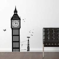 《DALI》創意無痕壁貼◆倫敦大笨鐘