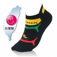 NUMEN 機能單車襪~Coolmax快速排汗機能 薄款 黑