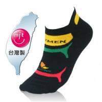 NUMEN 機能單車襪~Coolmax快速排汗機能 厚款 黑